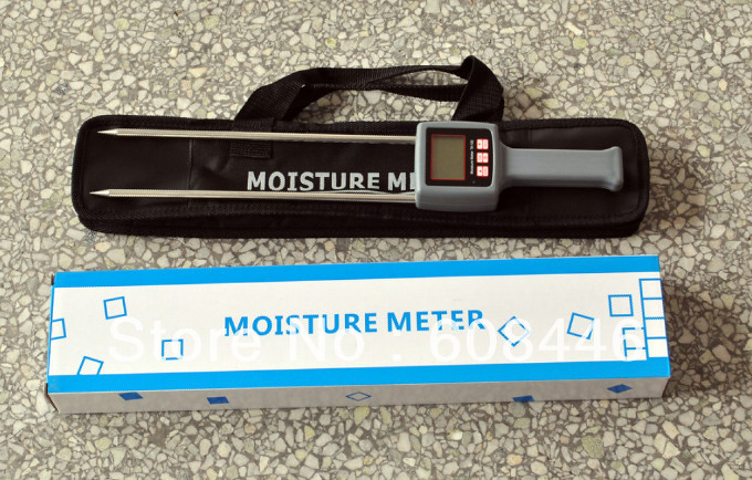 Grains,chemical raw material, Hay,Straw, Bran fibre materials DIGITAL Moisture Meter mc7812 induction tobacco moisture meter cotton paper building soil fibre materials moisture meter