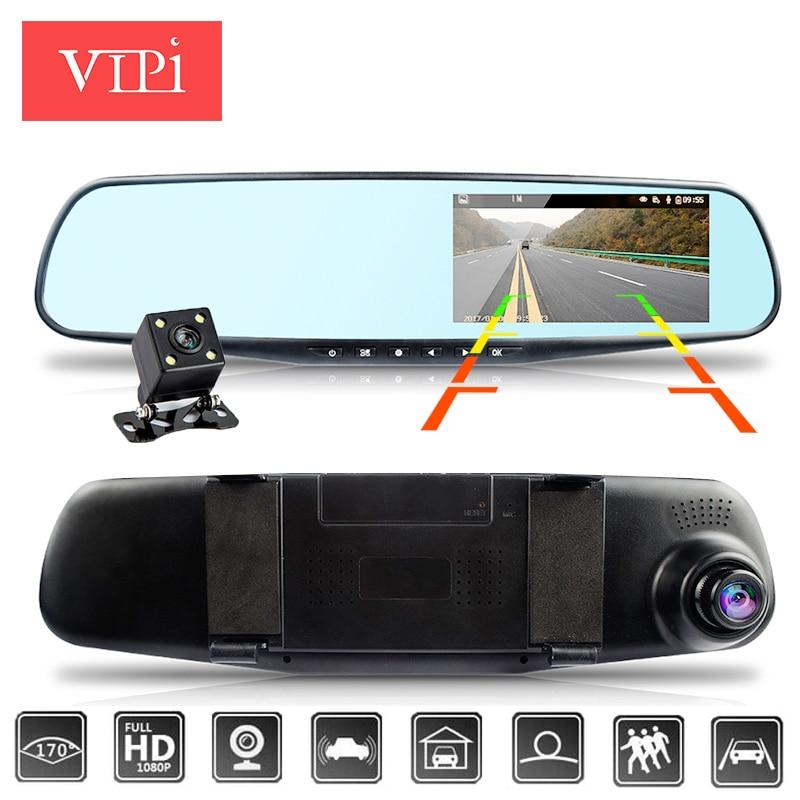 Автомобильный видеорегистратор/видеорегистратор Эра двойной камеры зеркало автомобиля системах видеонаблюдения dashcam Full HD видеорегистратор Зеркало Автомобильный видеорегистратор зеркало с двумя объективами рекордер