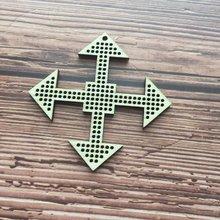 50x лазерная вышивка нитка ювелирные изделия Вышивка крестиком