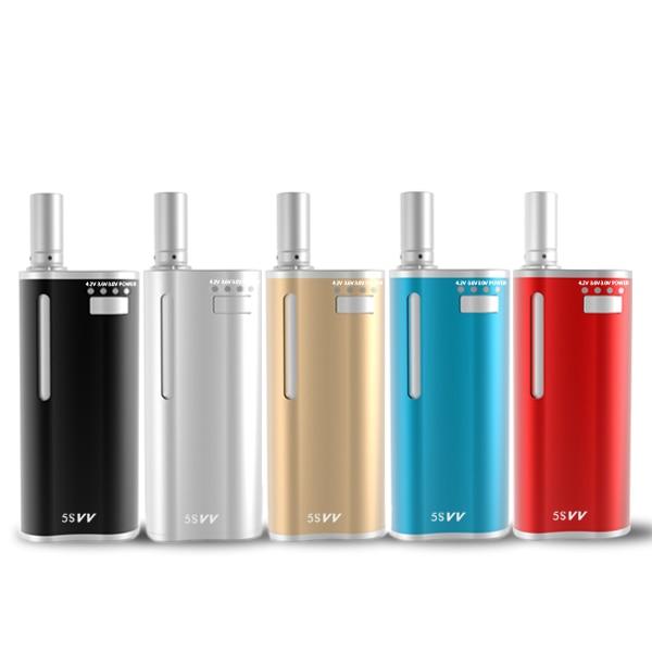 2 En 1 Mjtech 5S Vv Mini Vape Mod 650Mah Mod mecánico Cigarrillo - Cigarrillos electrónicos