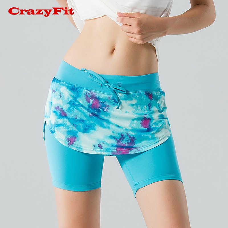 Damskie profesjonalne sport fitness do biegania yoga szorty do biegania damskie spodenki tenisowe spódnica anty ekspozycji tenis spódnica szorty
