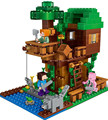2017 Lepin 18009 Building Blocks scene series 406 pcs Minecrafted tree house brick scene series Steve mini Blocks Toy