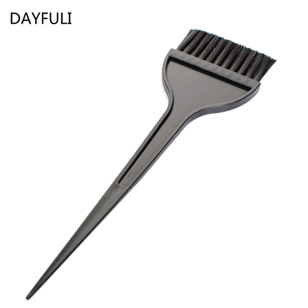 TOPHOT Plastic Hair Dye Color Comb Brush Professional Hairdressing With Nylon Hair Drying Brush Tinting Combs Hair Styling Tools