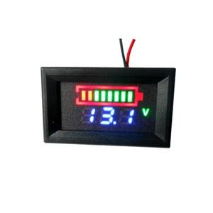 Image 3 - 2S 3S 4S リチウムバッテリー 12V 24V 48 12v 鉛酸バッテリー容量インジケータデジタル電圧計充電レベルテスターデュアルディスプレイ