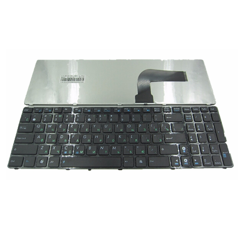 RU Black New Russian Laptop Keyboard FOR ASUS N71Ja N53 N53T X55VD UL50 P53 K53s K52 X61 N61 G60 G51 G53 UL50 P53