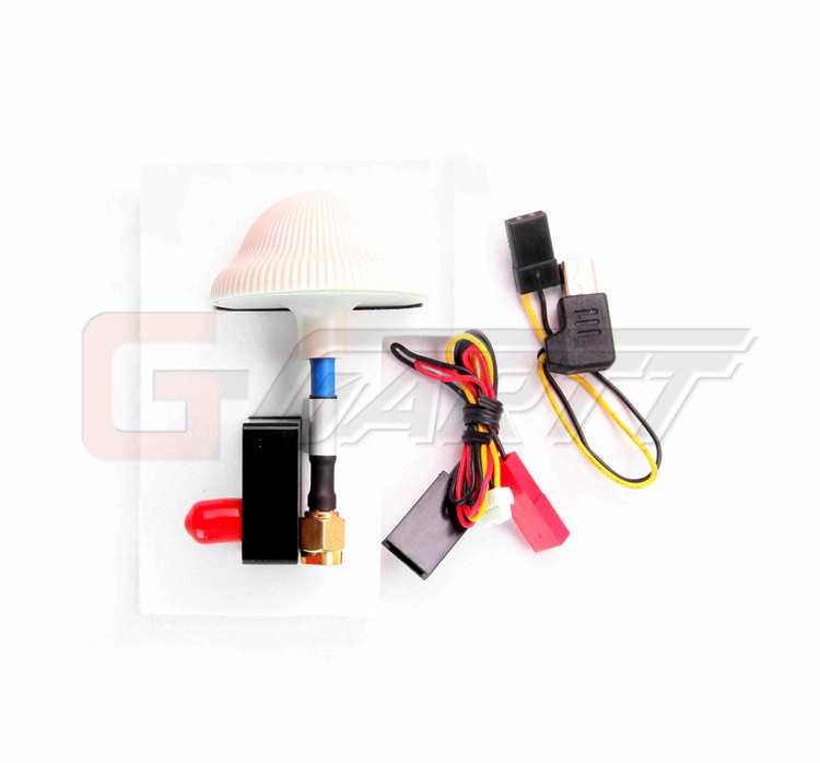racing star rt406 5 8g 40ch 600mw mini fpv transmitter with lcd display  including mushroom antenna