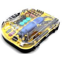 220 В электроинструменты электрическая мини дрель роторные Инструменты Набор для Dremel 3000 4000 ручная Металлообработка сверлильный станок поли...