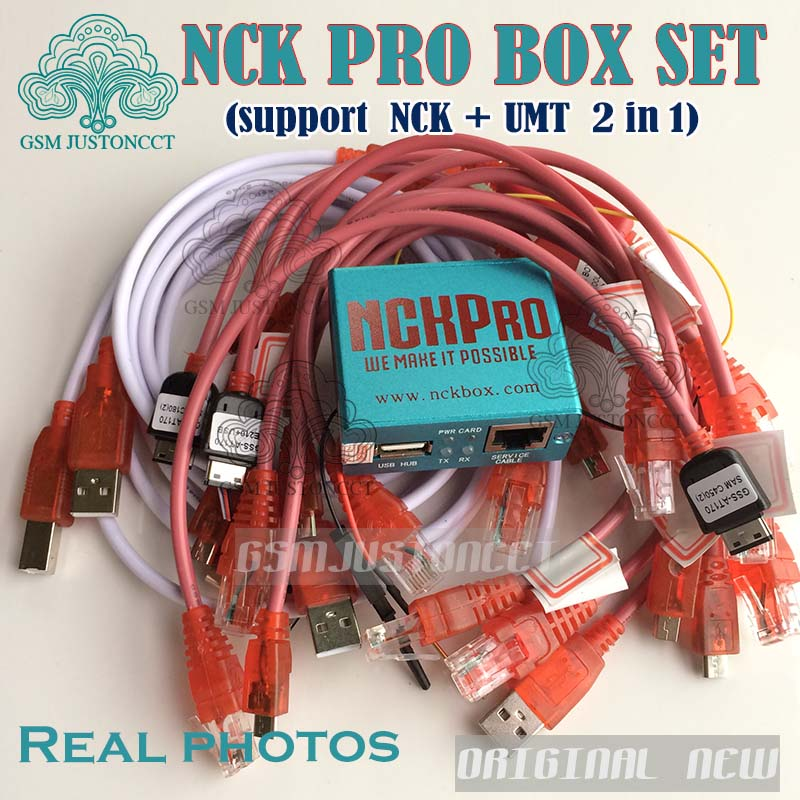 Новейшая Версия Оригинал NCK Pro box NCK Pro 2 коробки (поддержка NCK + UMT  2 в 1) новое обновление