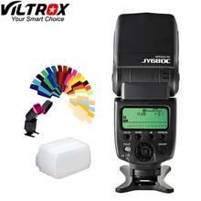 Viltrox JY 680C Highspeed Speedlite LCD E TTL Flash For Canon EOS t5i t4i t3i 700D 650D 600D 1100D 550D 400D Free Shipping