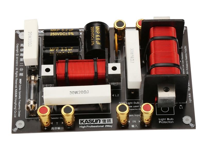 2 way 2 Unit professional Speaker Frequency Divider Crossover Filter 3200HZ for Tweeter MidRange Woofer made