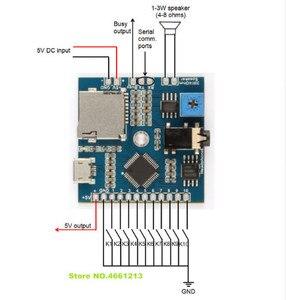 Image 2 - 1 قطعة 2 قطعة 5 قطعة FN BC10 10 أزرار أثار MP3 وحدة الصوت 10 الزناد المدخلات MP3 لاعب الصوت مجلس