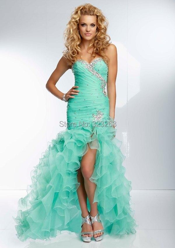 Mint Green Mermaid Wedding Dress - Missy Dress