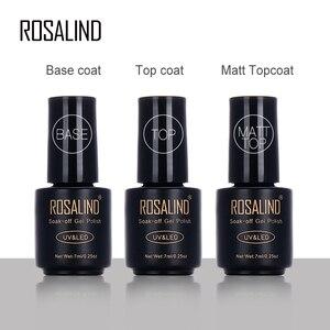 Гель-лак для ногтей Rosalind, матовый лак для ногтей, 7 мл