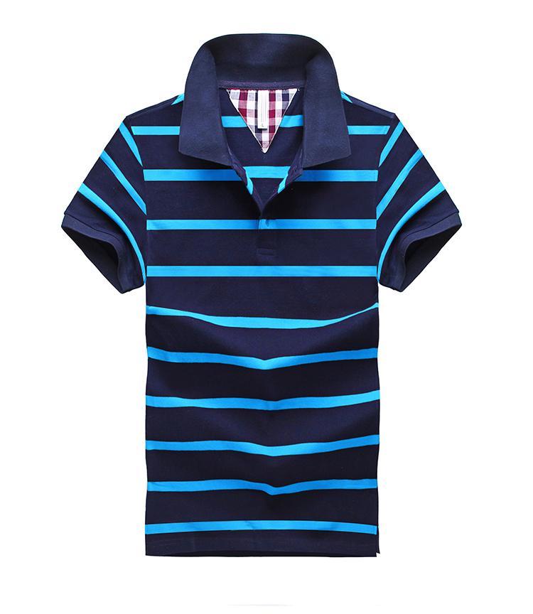 7b6b7de02a4e Mens Fashion Brand Polo Shirt Men Cotton High Quality Plaid Polo Summer  Short-sleeve Brand Clothing Casual Polo Free ShippingUSD 23.43/piece