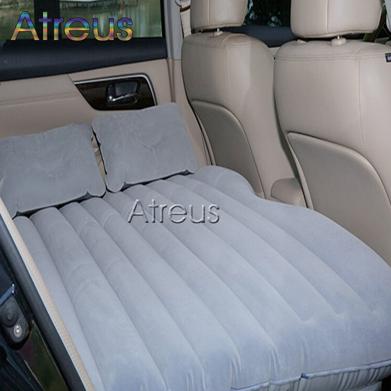 Car-styling Inflatable Car Bed for Back Seat Auto Covers for Bmw Ford Focus Toyota Volkswagen Mercedes Audi Solaris Accessories car floor mats covers free shipping 5d for toyota honda for nissan hyundai buick for ford audi benz for bmw car etc styling