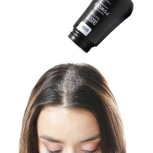 Polvo de pelo fino mullido Hairspray aumenta el volumen del pelo captura el  pelo modelado Unisex 30f0ea0d8199
