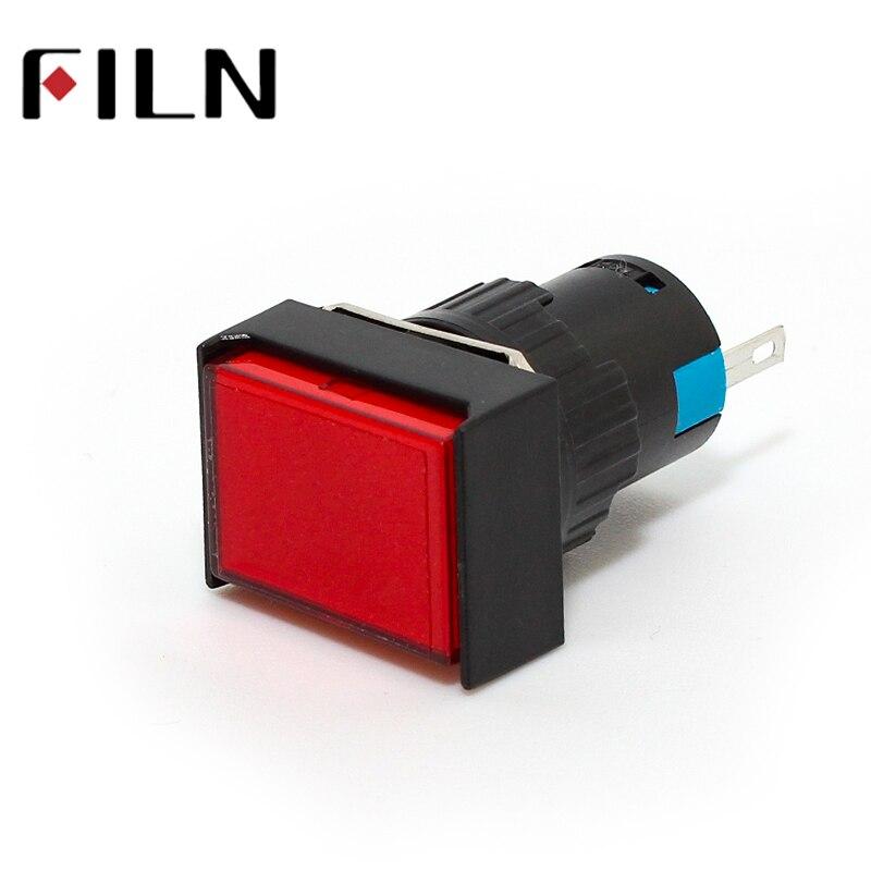 16mm 12V 24V 110V 3V 220V LED Red Blue Green White Amber Pilot Lamp Indicator Light