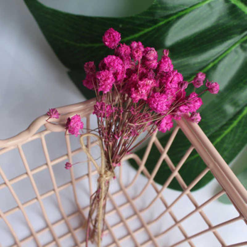1 piezas vender púrpura Forget-me-not flores artificiales organizar mesa boda flores decoración fiesta accesorio caja de regalo artesanía