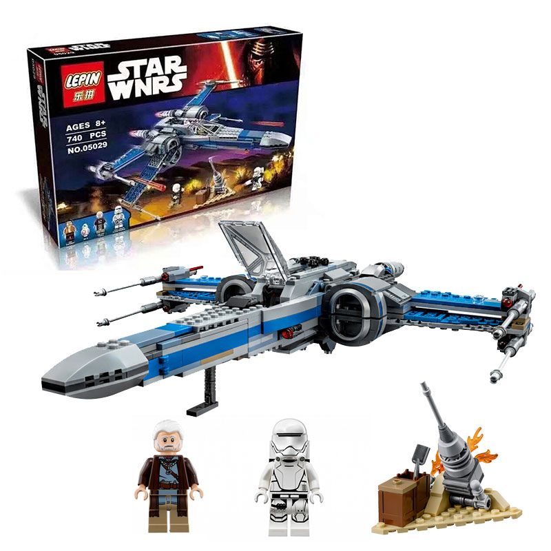 05029 10466 Star Wars First Order Poes X-wing Fighter building block compatible with lego
