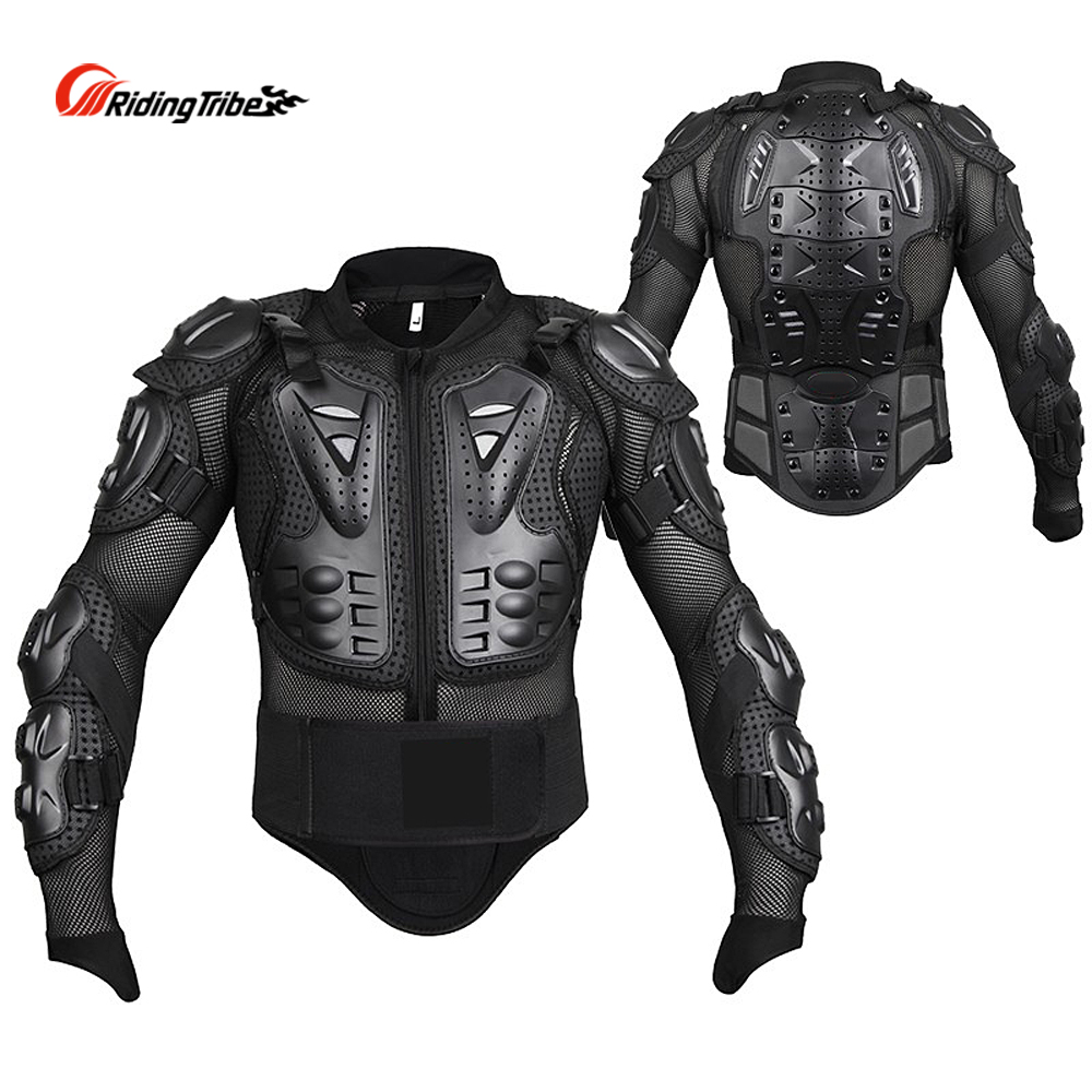 Jacket Motorcycle Body Moto Racing Armor Suit Protective Full W Spine Bike New