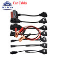 2017 New Arrival Full Set TCS CDP Car Cables TCS 8 Car Cables With Diagnostic Tool Interface Cable Free Shipping