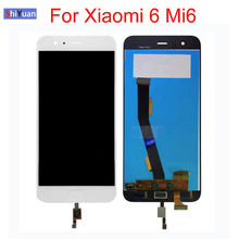LCD Touch Screen For Xiaomi Mi 6 Mi6 5.15 inch Display With Digitizer Assembly NEW For 5.15 Xiaomi 6 LCD Replacement Parts цена