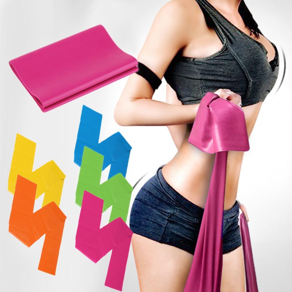 1.2M Фитнес-оборудование Упругие Упражнения Полосы Сопротивления Тренировки Для Йоги Упругие Полосы Для Фитнес-упражнений
