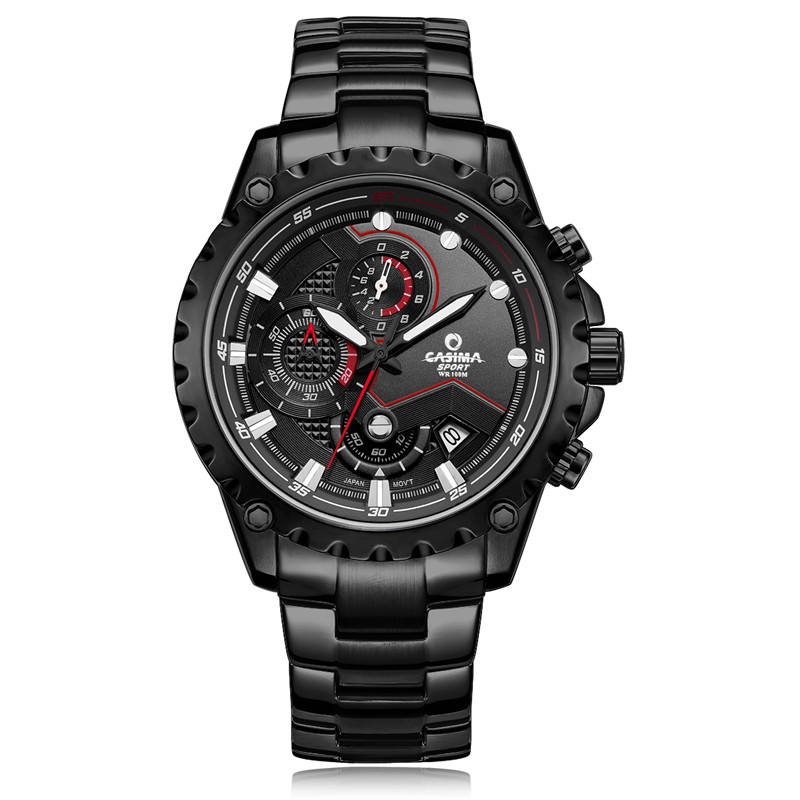 New Luxury Brand Watches Men TOP fashion luxury multi function charming Sport Mens quartz watch waterproof CASIMA #8203