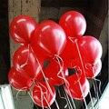 10 шт. Красный Воздушный шар Латекса Надувные Шары 1.5 г Свадьба Украшения День Рождения Малыша Float Шары Дети Toys TD0014RD