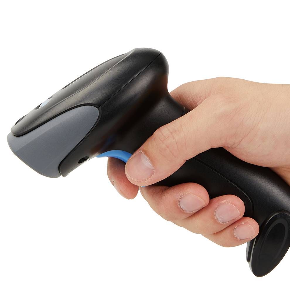 1D/2D Wireless Barcode Scanner CMOS Sensor LED lights Fast Precise Reading UPC/EAN 1D codes and PDF417 Data Matrix Code 2D codes 2d wireless barcode area imaging scanner 2d wireless barcode gun for supermarket pos system and warehouse dhl express logistic