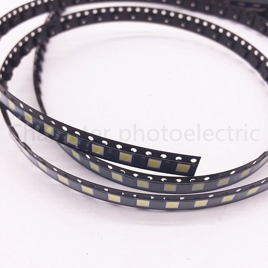50PCS 100PCS/Lot 1W /2W 3535 3V /6V SMD LED Beads Cold white 90Lm High power for LCD/TV Backlight