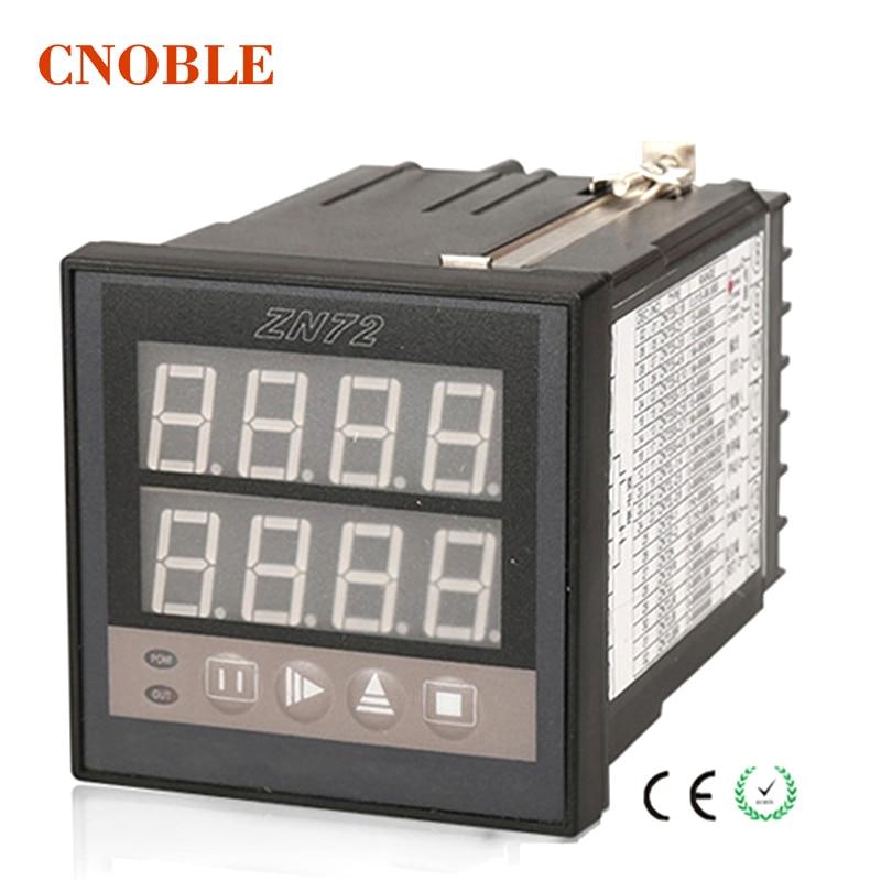 ZN72 1-9999 Panel Mount Count Up Down Digital Counter AC 220V / 24V / 12V Measurement Instruments cg8 digital counter ac 110 220v
