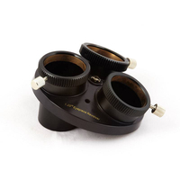 HERCULES Multi Eyepiece Revolver 1.25 3 Holders Telescope Precision Optical Astronomy