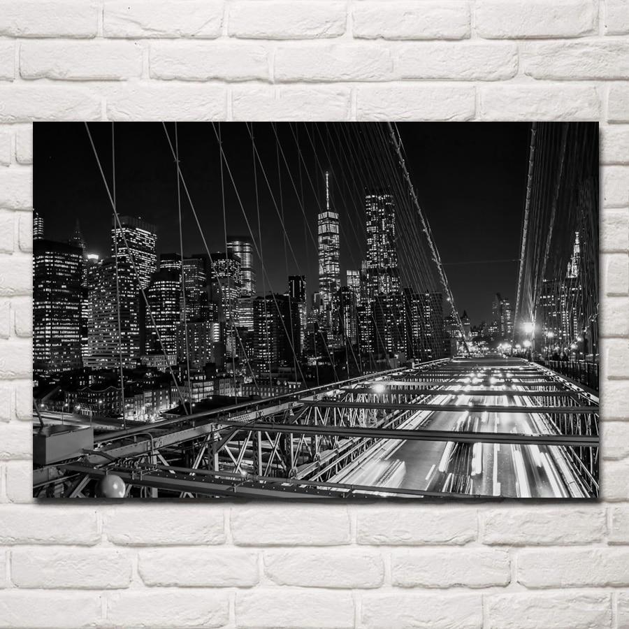 Aliexpress.com : Buy Brooklyn Bridge New York City Night