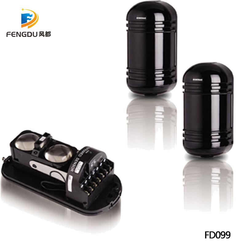 2 paire anti-pluie infrarouge faisceau détecteur capteur fenêtre mur barrière détecteur 2 faisceau capteur IR capteur 100 m pour alarme extérieure