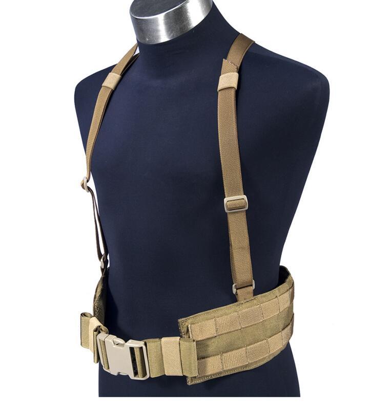 FLYYE MOLLE Tactical Right Angle Belt Cummerbund BT B007