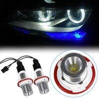 2PCS 15W Replacement LED Angel Eyes Led Halo Ring Marker Light Bulb For BMW E39 E53
