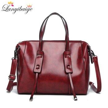 42be635c492d LANYIBAIGE роскошные женские сумки высокой емкости Женские сумки кожаные  дизайнерские Брендовые женские сумки через плечо