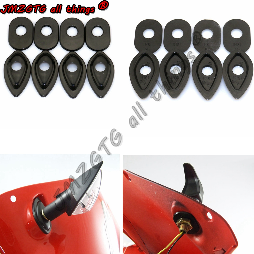 Motorcycle Refit Turn Signals Indicator Adapter Spacers For HONDA CBR600F4i CBR900RR 929 954  RC51 RVT1000R VTR1000SP1 2