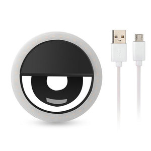 Image 2 - 36 LED przenośny akumulator fotografia latarka Up Selfie lampa telefon lampa pierścieniowa noc lampa wideo
