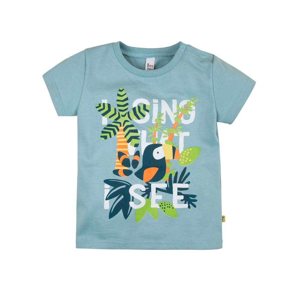 T-Shirts BOSSA NOVA for boys 259b-161g Kids Top T shirt Baby clothing Tops Children clothes muqgew toddler kids baby girl lolly t shirt tops floral shorts pants outfit clothes set unicorn pajamas for girls top ropa mujer