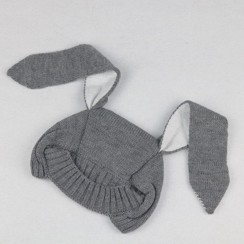 Ganchillo del algodón del sombrero del bebé forma del oído de conejo ...