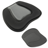 High Quality 38x32cm Comfortable Soft EVA Kayak Seat Cushion Black Padded On Top Pad For Kayaking