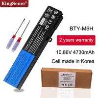 KingSener BTY M6H Laptop Battery For MSI GE70 GP72MVR GL62VR GL62M GL72 GE72VR MS 16J3 MS 16J4 MS 16J6 MS 1792 MS 1795 MS 16J5L