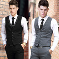 Vest Dress Men Formal Business Party Mens Dress Vest Suit Male Plus Size 4XL 5XL 6XL Colete Masculino Gilet Homme Vest Dress Men