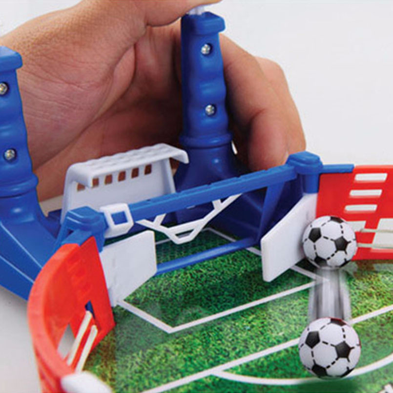 Mini Football Board Match Game Kit Tabletop Soccer Toys For Kids Educational Sport Outdoor Portable Table Games Play Ball Toys 2