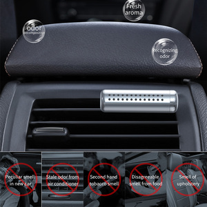 Image 5 - Baseus Car Air Freshener Perfume Clip Auto outlet Fragrance Smell Diffuser Air Condition Solid Perfume In The Car Accessories