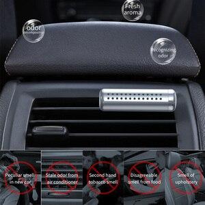 Image 5 - Baseus سيارة معطر جو كليب السيارات منفذ العطر رائحة معطر الهواء حالة الصلبة العطور في اكسسوارات السيارات