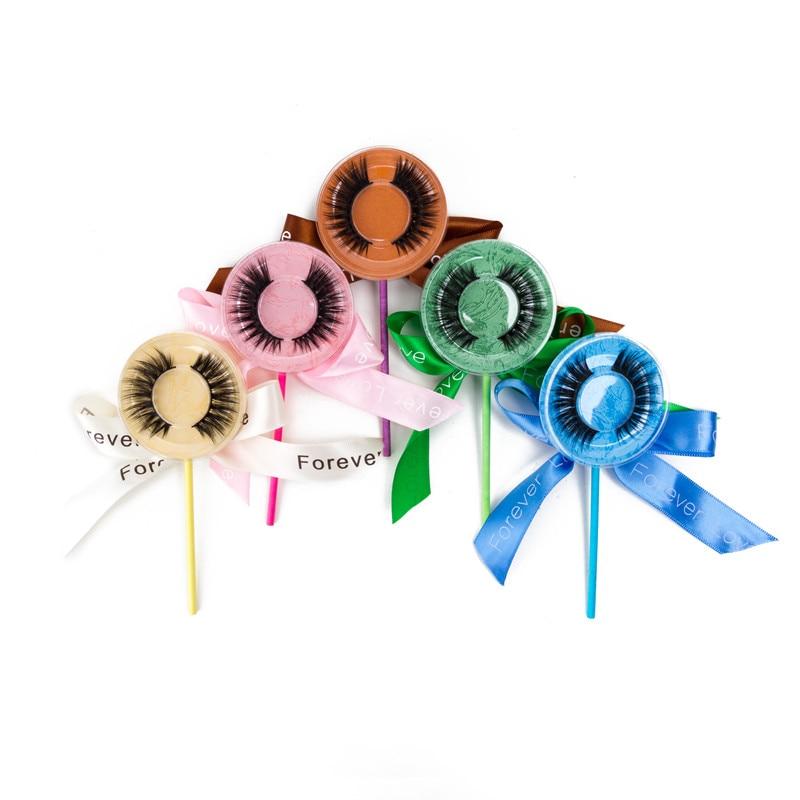 50 100 шт Lollipop пакет 3D норковые ресницы пустая коробка норковые накладные ресницы Горячая продажа искусственная полоса пустая коробка ресниц Бесплатная доставка