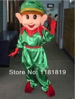 MASCOT christmas elf Mascot costume custom fancy costume anime cosplay kits mascotte theme fancy dress carnival costume